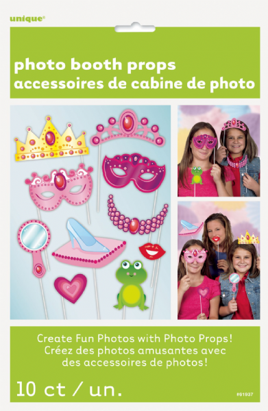Princess Photo Booth Props 10ct